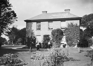 The Rectory, Rectory Road, St Stephen in Brannel, Cornwall. Early 1900s