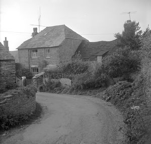 Rose Cottage and Much in Little, Trevalga, Cornwall. 1966