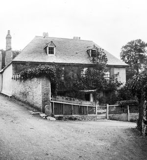 Rosehill Cottage, Padstow, Cornwall. Probably early 1900s
