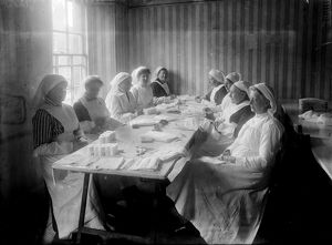 Royal Cornwall Infirmary, Truro, Cornwall. Possibly late 1918