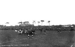 Rugby Union match, Redruth, Cornwall. 28 March 1912