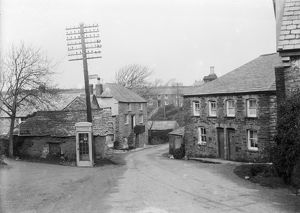 Rumford village, St Ervan, Cornwall. Around 1920s
