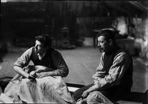 Sail-makers, Padstow, Cornwall. 1900