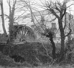 Scawswater Mill, Idless, Cornwall. Early 1900s