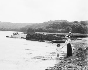 Scott's Quay, Constantine, Cornwall. Early 1900s