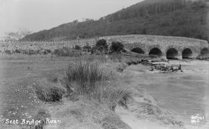 Sett Bridge, Ruan Lanihorne, Cornwall. Probably 1910s