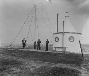 The Signal Station, Newquay, Cornwall. Around 1910-1914