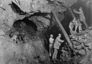 South Condurrow Mine, Camborne, Cornwall. Around 1900
