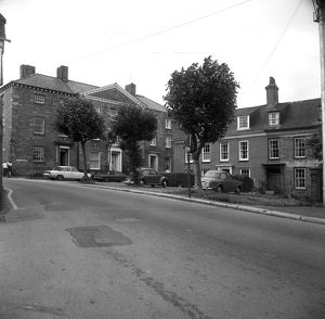 The Square, Penryn, Cornwall. 1974
