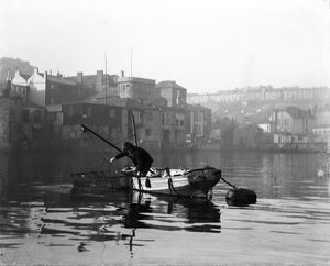 St Ives harbour, Cornwall, early 1900s