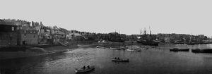 St Ives harbour, Cornwall. Early 1900s