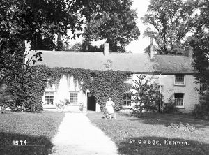 Stencoose, also known as St Coose, Kenwyn, Cornwall. Early 1900s