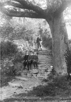 Forty Steps, Kenwyn, Cornwall. Early 1900s