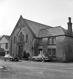 The Temperance Hotel, Churchtown, Roche, Cornwall. 1977