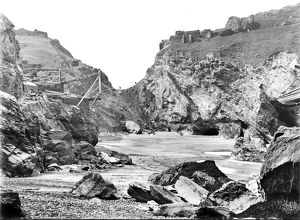 Tintagel Haven, Cornwall. Early 1900s