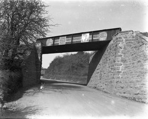 Tolgarrick railway bridge, Truro, Cornwall. 1920s