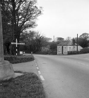 Toll House, Tregolls Road, Truro, Cornwall. 1964