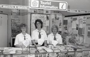 Tourist Information Centre, Lostwithiel, Cornwall. June 1986