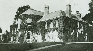 Tregolls House, Tregolls Road, Truro, Cornwall. Around 1900