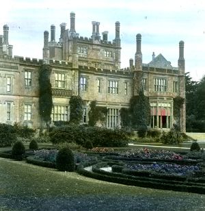 Tregothnan House and formal garden, St Michael Penkivel, Cornwall