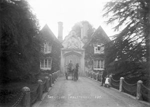Tregothnan Lodge gatehouse, Tresillian, Cornwall