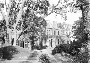 Treliske House, Truro, Cornwall. Early 1900s