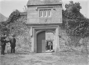 Trenethick House, Gatehouse, Wendron, Cornwall. Early 1900s