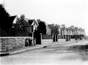 Treyew Road, Truro, Cornwall. Around 1905