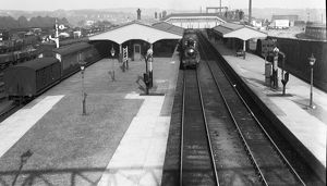 Truro railway station, Cornwall. Around 1910