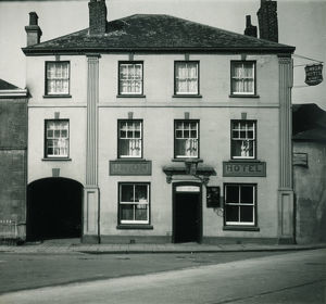 Union Hotel, St Austell Street, Truro, Cornwall. Early 1900s