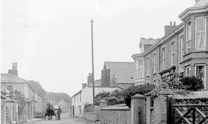 Vicarage Road, Fore Street, St Agnes, Cornwall. Early 1900s