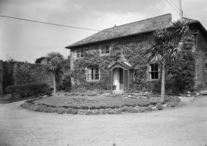 Front view of Empacombe House, Mount Edgcumbe estate, Maker, Cornwall. 1962
