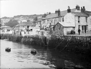 The Water side, Flushing, Cornwall. 1912