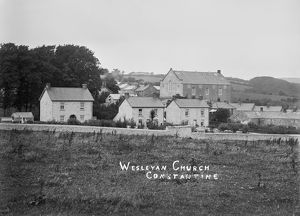 Wesleyan Church, Constantine, Cornwall. Early 1900s