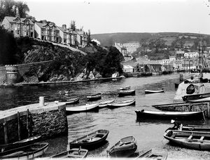 West Quay Road, Looe, Cornwall. Early 1900s