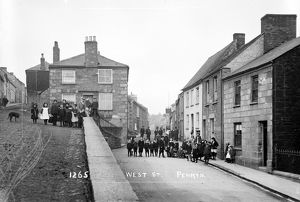 West Street, Penryn, Cornwall. Around 1904