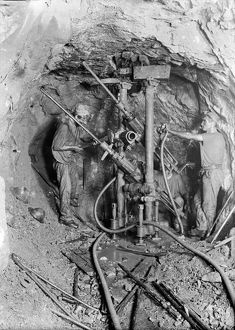 Wheal Agar Mine, Illogan, Cornwall. January 1895