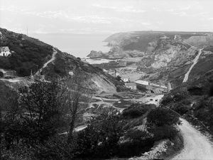 Wheal Friendly Mine, Trevaunance Cove, St Agnes, Cornwall