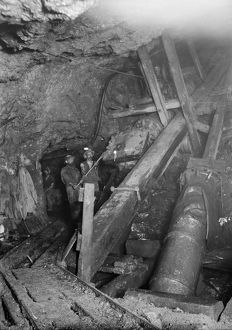Wheal Grenville Mine, Camborne, Cornwall. Early 1900s