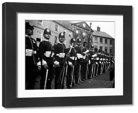 Duke of Cornwall's Light Infantry on parade. Photographer: Unknown