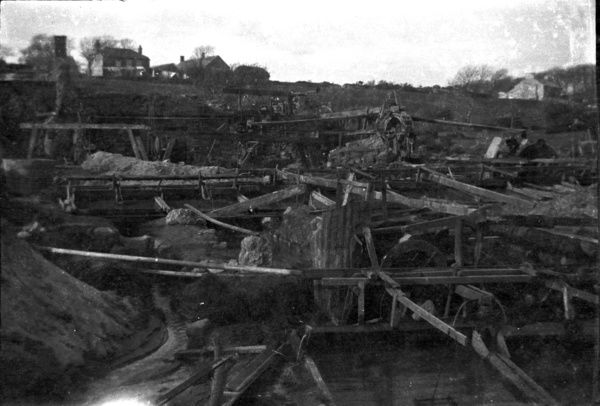 Amalbrea tin stream works, Towednack, Cornwall. 1920s