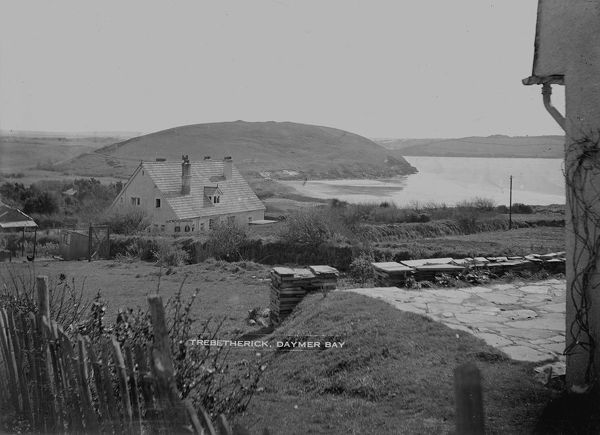 Brea Hill from Greenaway, Trebetherick Point, Trebetherick, St Minver, Cornwall. Around 1930