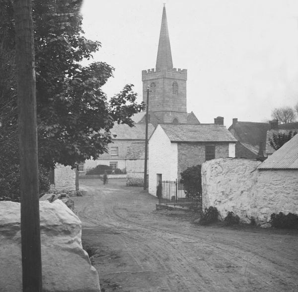 Churchtown, St Keverne, Cornwall. Around 1900