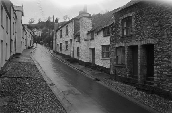 Photographer identifies the location as East Looe. Photographer: Charles Woolf