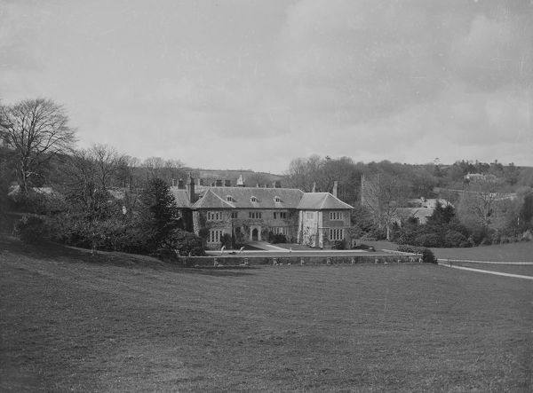 Morval House, Morval, near Looe, Cornwall. Around 1890