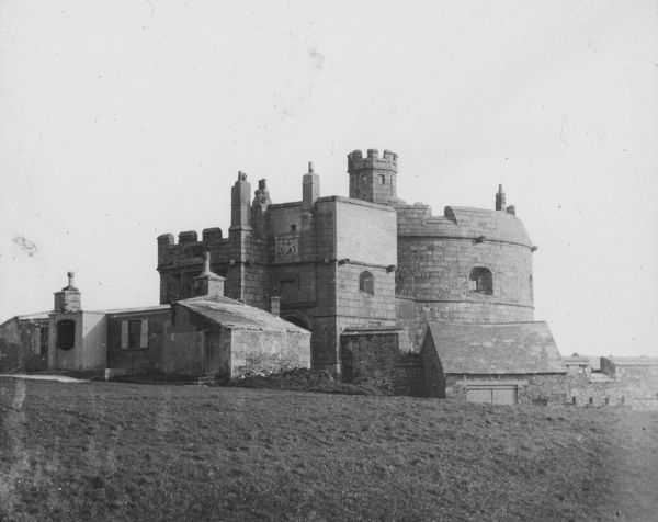 Pendennis Castle, Falmouth, Cornwall. Around 1925