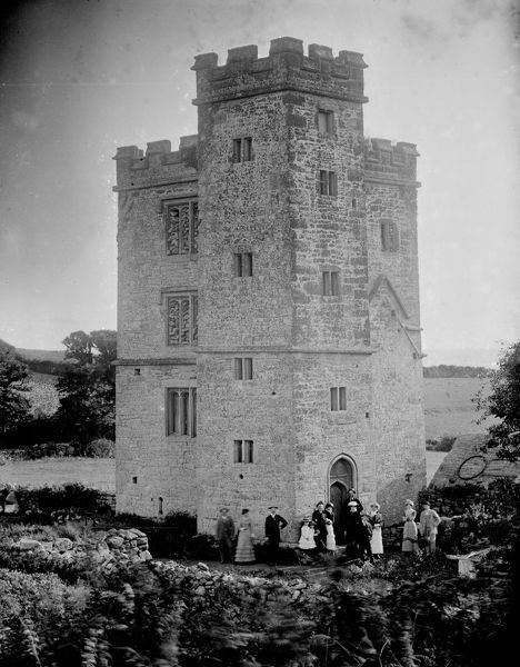 Pengersick Castle, Breage, Cornwall. Around 1880s