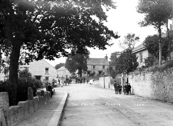 The Praze, Penryn, Cornwall. Early 1900s