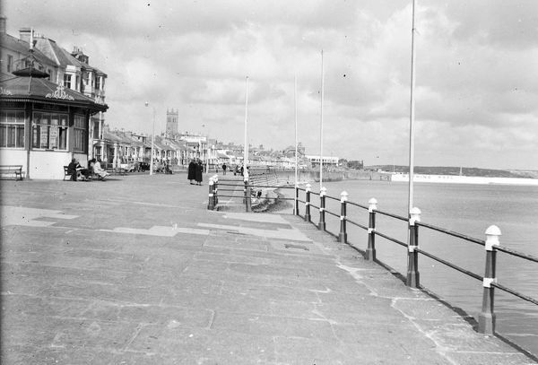 The Promenade, Penzance, Cornwall. After 1935