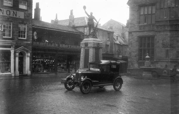 RAC official trial car, Truro, Cornwall. After 1922